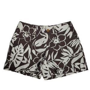 NWT VINEYARD VINES tropical floral chino shorts